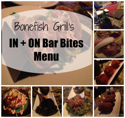 #IncredibleIs Bonefish Grill's Bar Bites Menu