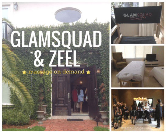 Relaxing at Home with GlamSQUAD & Zeel Massage