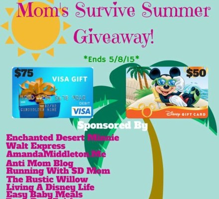 Mom's Survive Summer Giveaway!