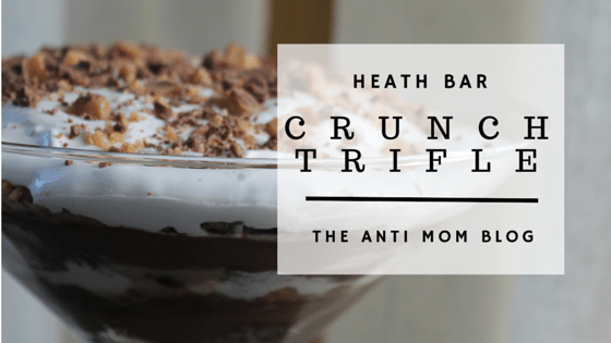 Heath Bar Crunch Trifle