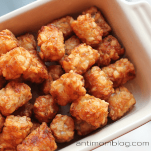 Trader Joe's Tater Tots | The Anti Mom Blog
