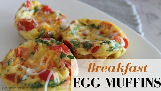 Breakfast Egg Muffins ~ 21 Day Fix Approved