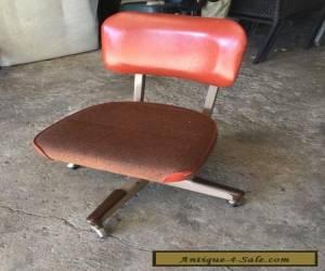 Vintage Delwood Furniture Metal Chair Mid Century 5039s 60