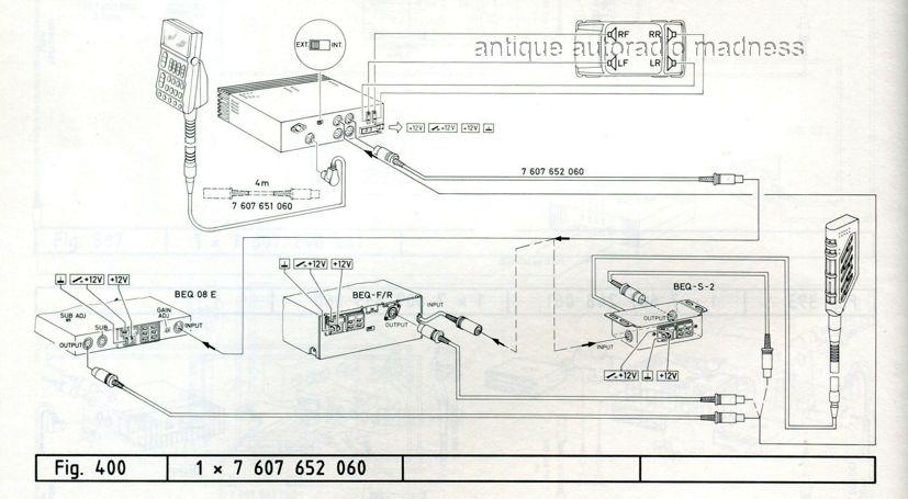 amplifier with equalizer schema cablage