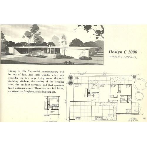 Medium Crop Of Mid Century Modern House Plans