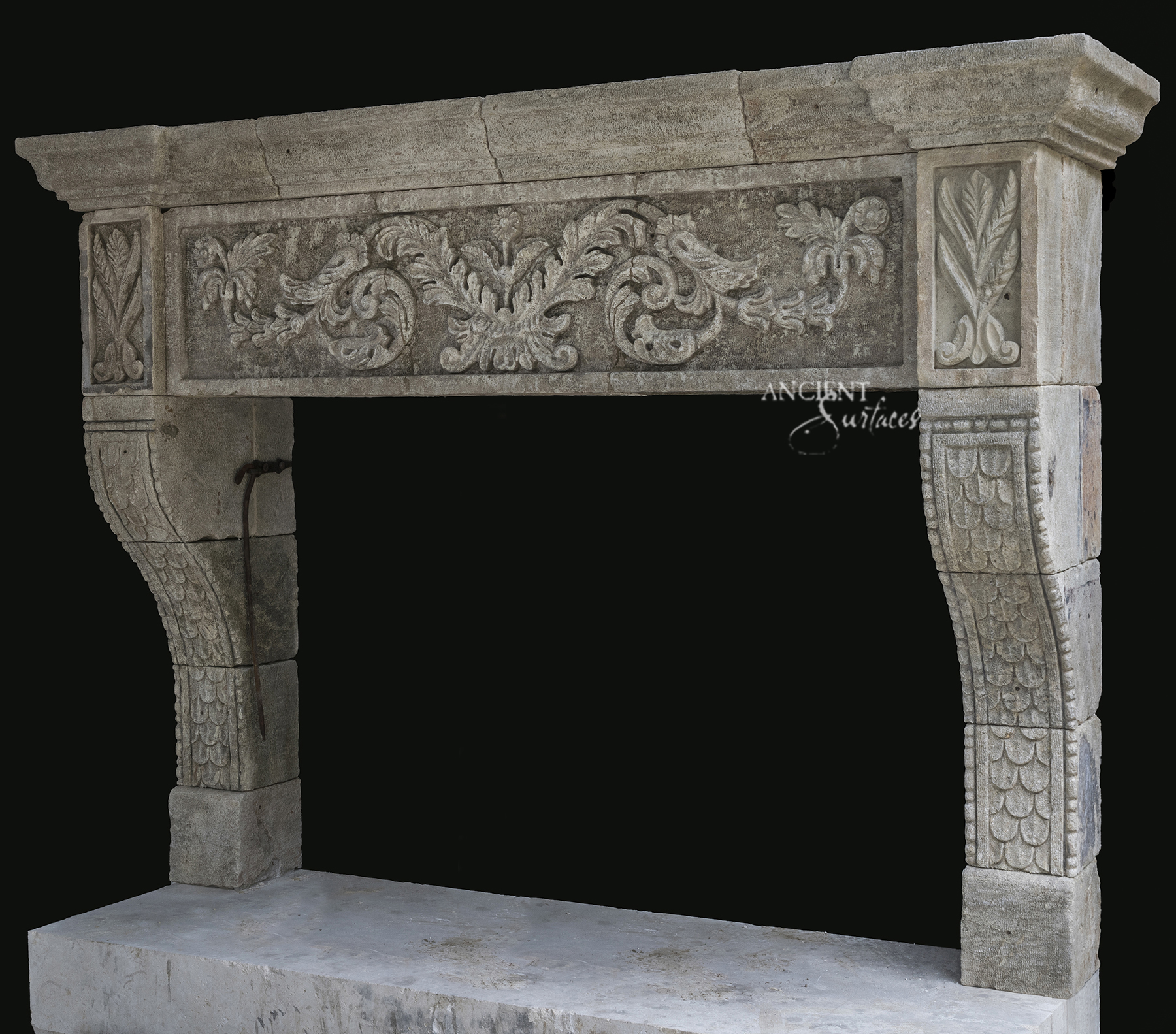 Antique Fireplace Mantels For Sale Breathing Room In Your Living Room Antique Stone Fireplace The