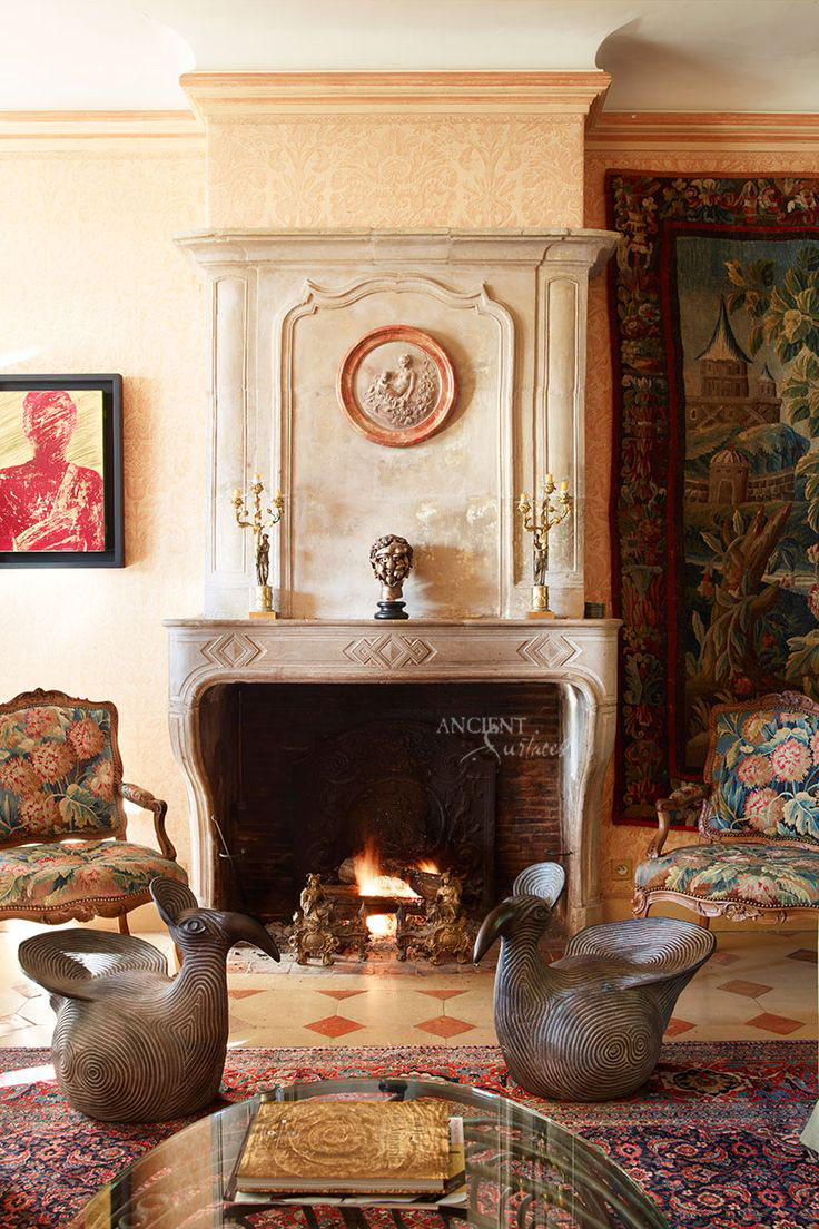 French Country Fireplace French Country Fireplace Antique Fireplaces By Ancient Surfaces