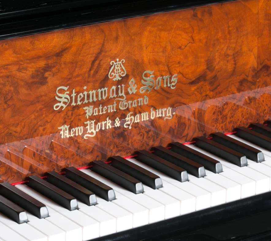 Antique Steinway  Sons Model B Victorian Concert Grand Piano