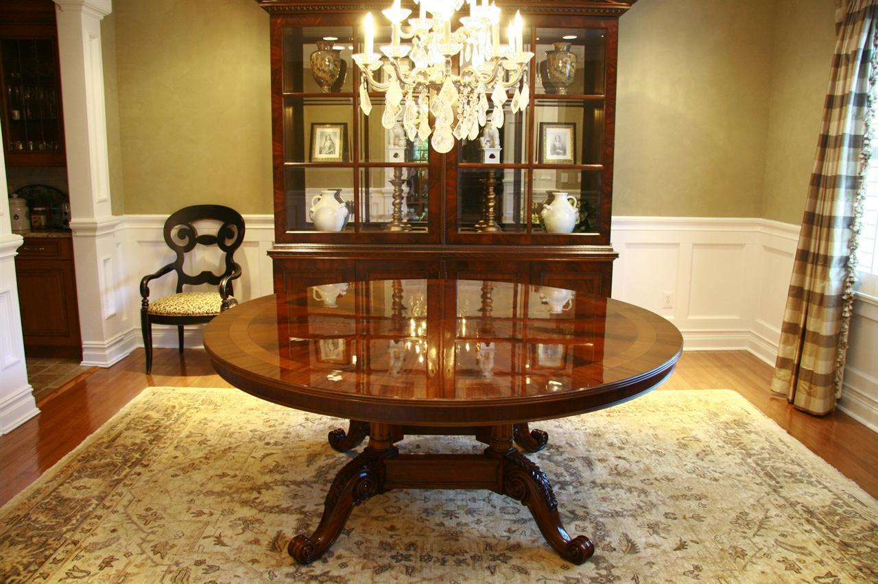 High Top End Table 72 Round Dining Table American Large Round Dining
