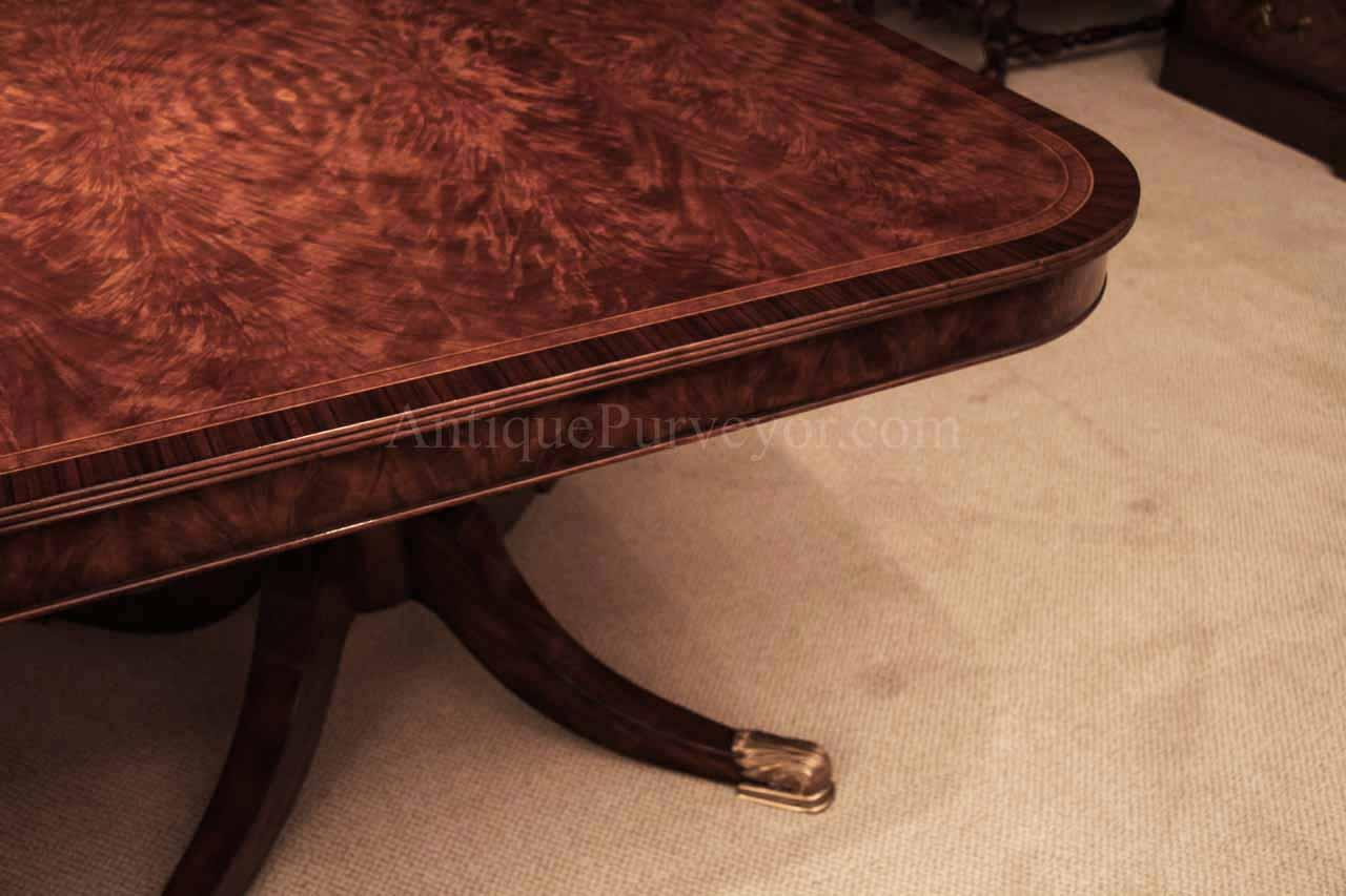 14 Foot Dining Table 12 Foot Mahogany Dining Table For 8 14 Antiquepurveyor
