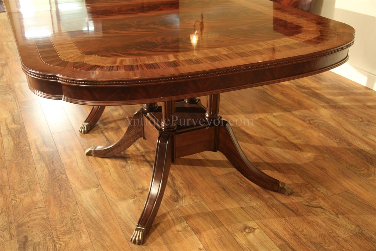 16 Seater Dining Table Large 13 Foot Mahogany Dining Table Seats 16 People