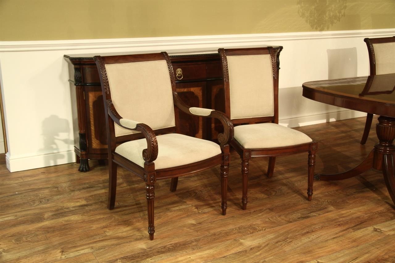Upholstered Chairs For Dining Room New French Style Upholstered Dining Room Chairs Stain