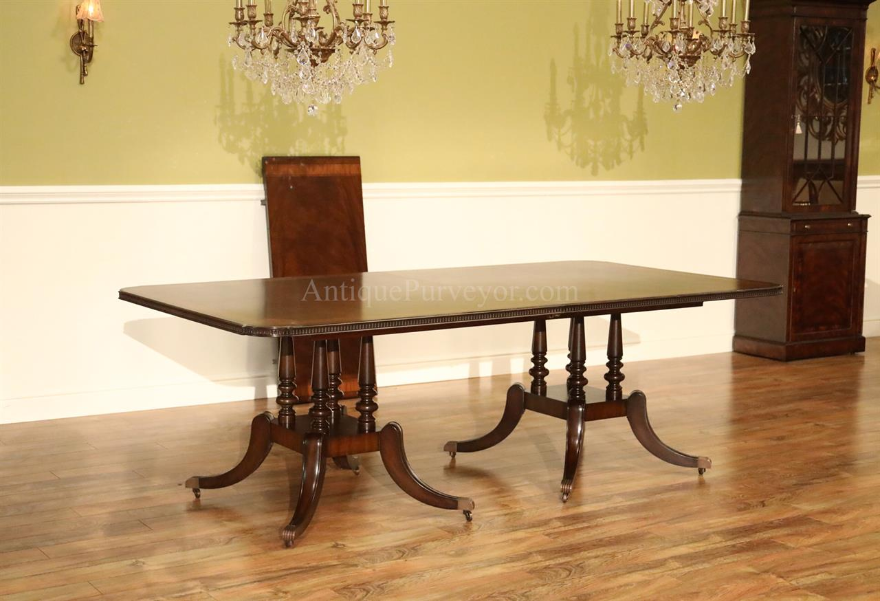 10 12 Person Dining Table Mahogany Dining Table With Crossbanded Crotch Mahogany Field
