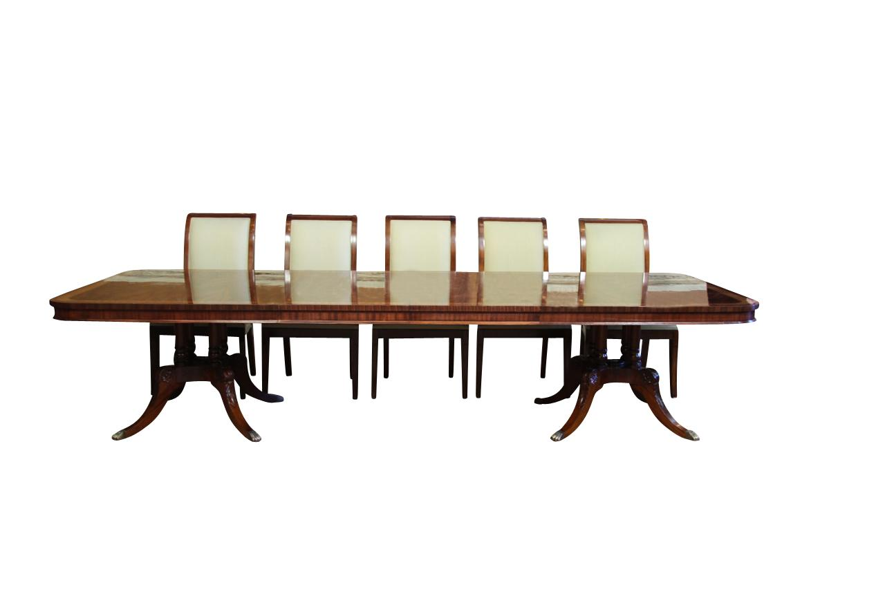 Dining Room Tables That Seat 12 Or More High End Extra Large And Long Mahogany Dining Table Seats 12