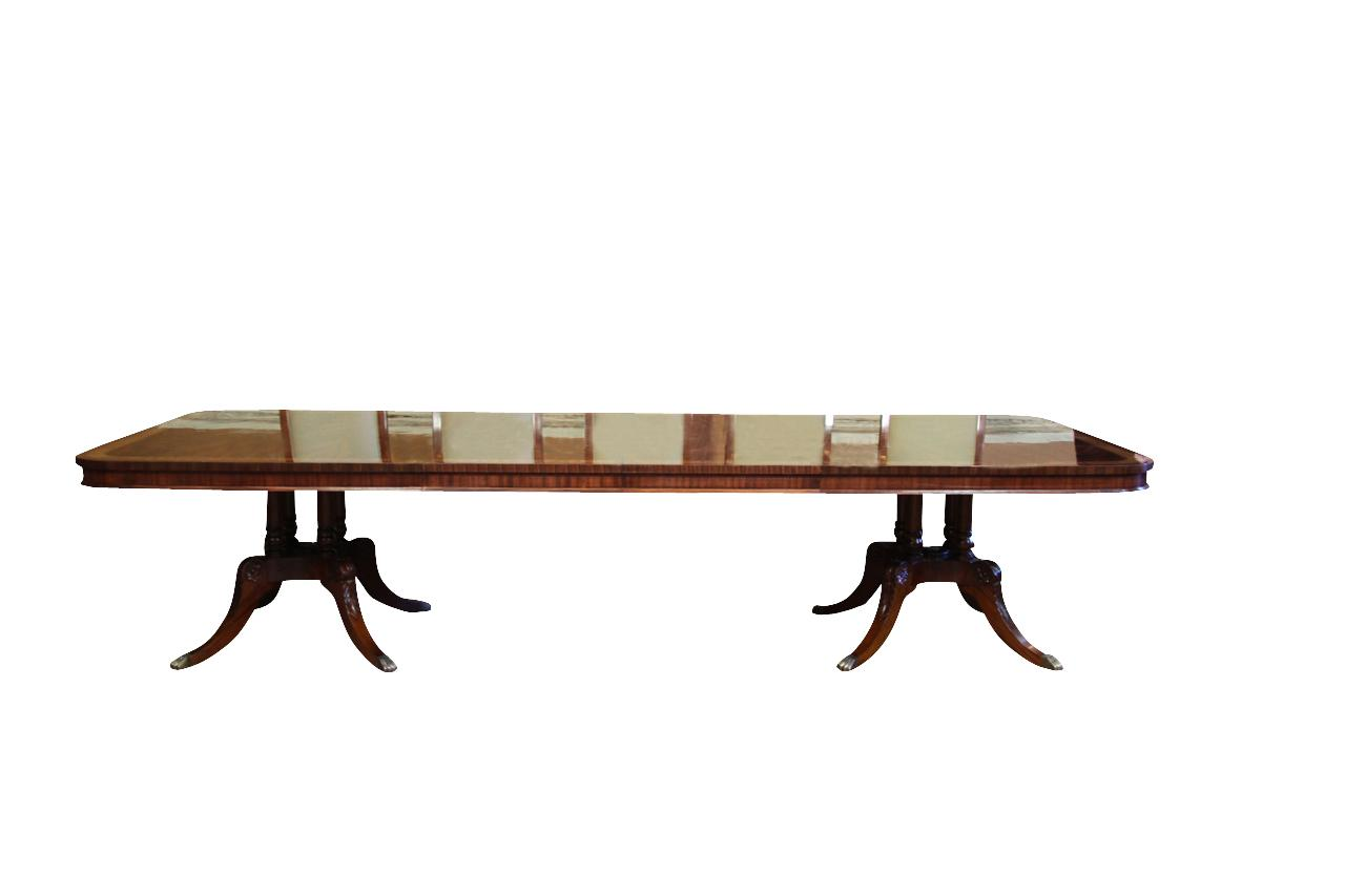 16 Seater Dining Table High End Extra Large And Long Mahogany Dining Table Seats 12