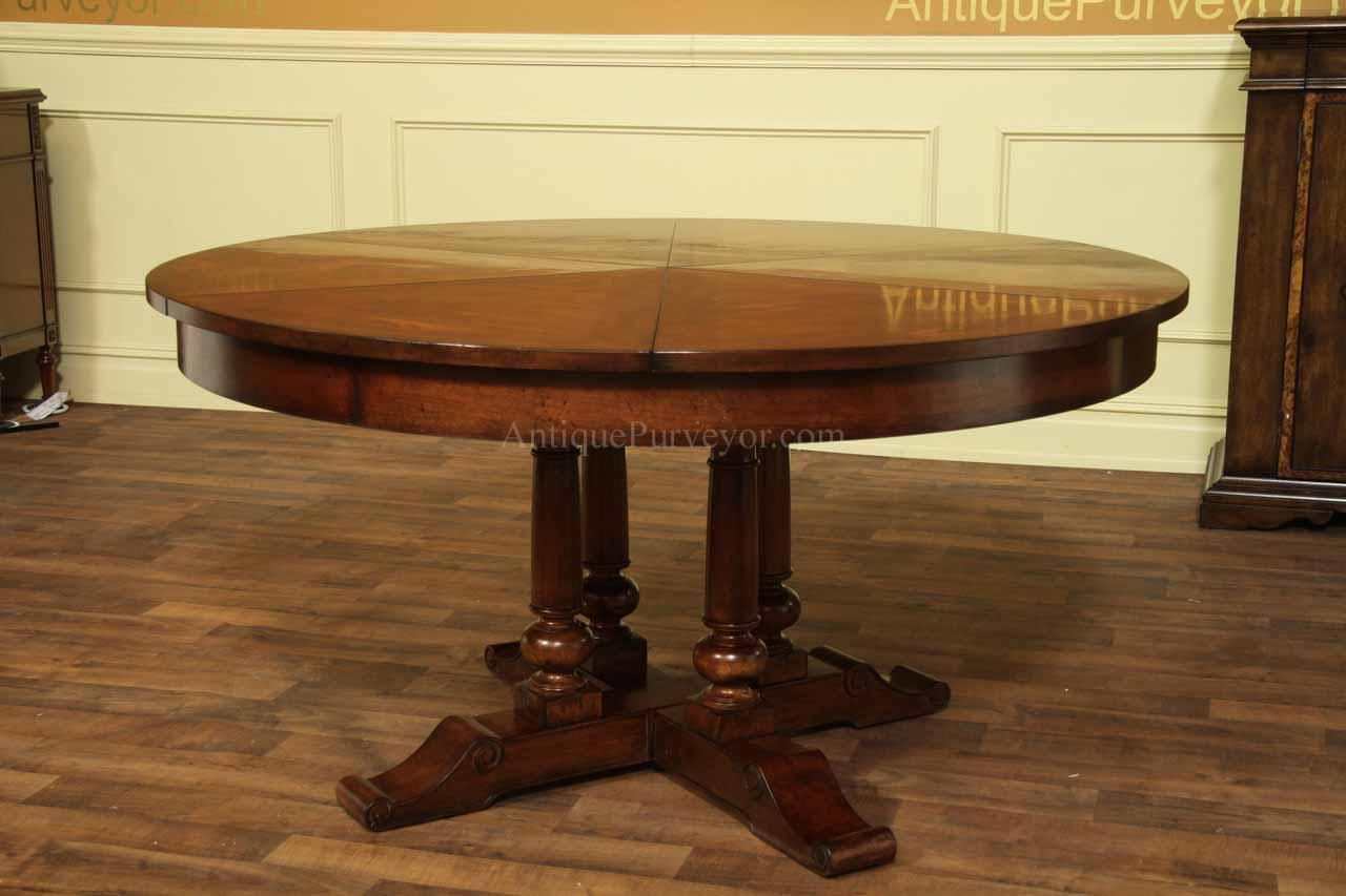 Table With Slide Out Leaves Country Jupe Table For Sale With Wood Or Painted Pedestals