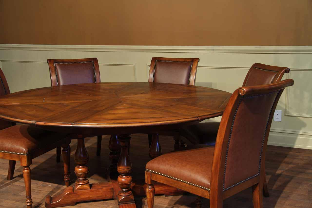Large Dining Room Tables Seat 12 Rustic Extra Large Solid Walnut Dining Table Opens To 100