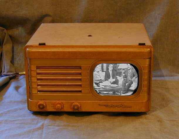 Motorola Model Vt 73 Vt 71 Quotgolden Viewquot Television 1948