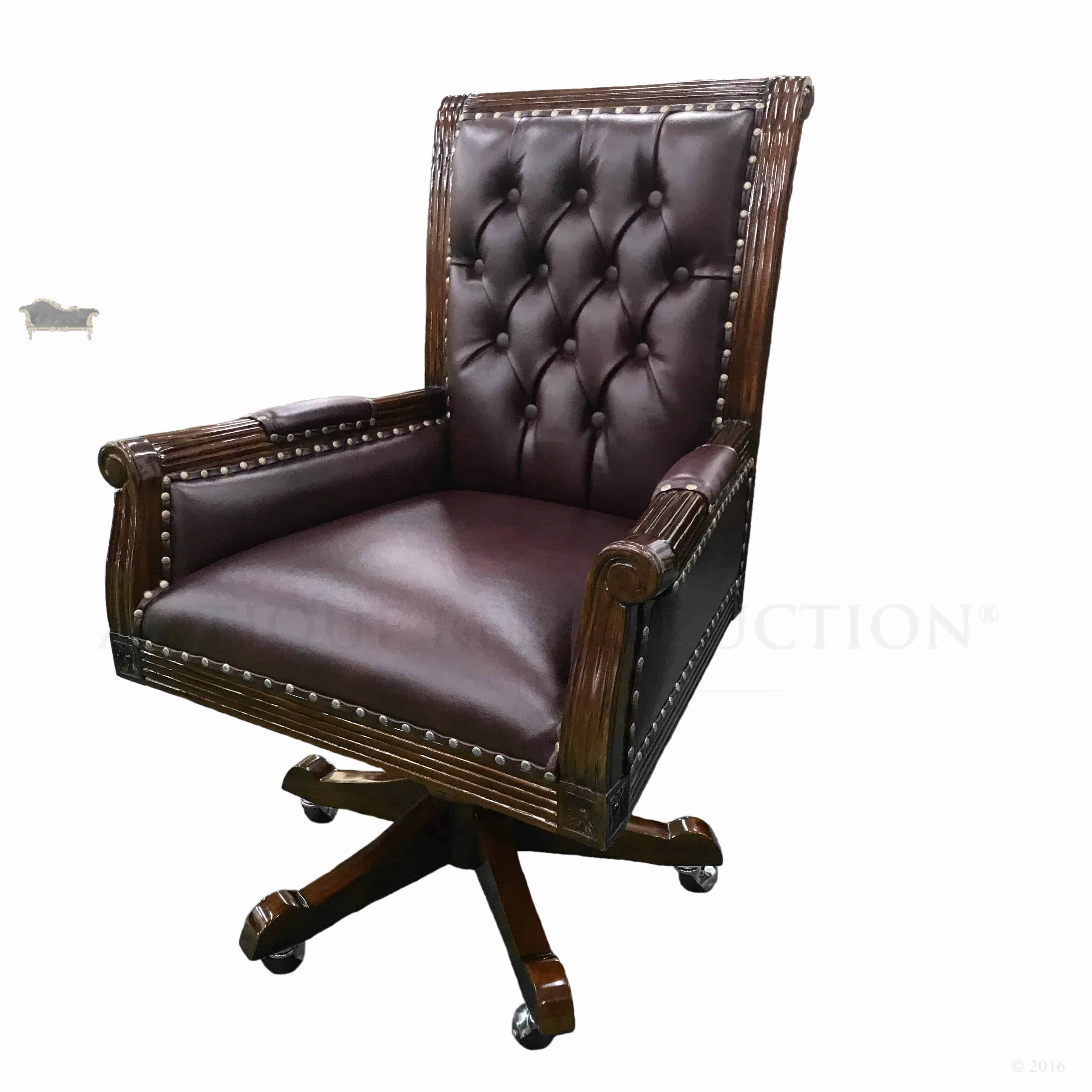 Office Chair Styles Office Desk Chair Library President Style Large Antique