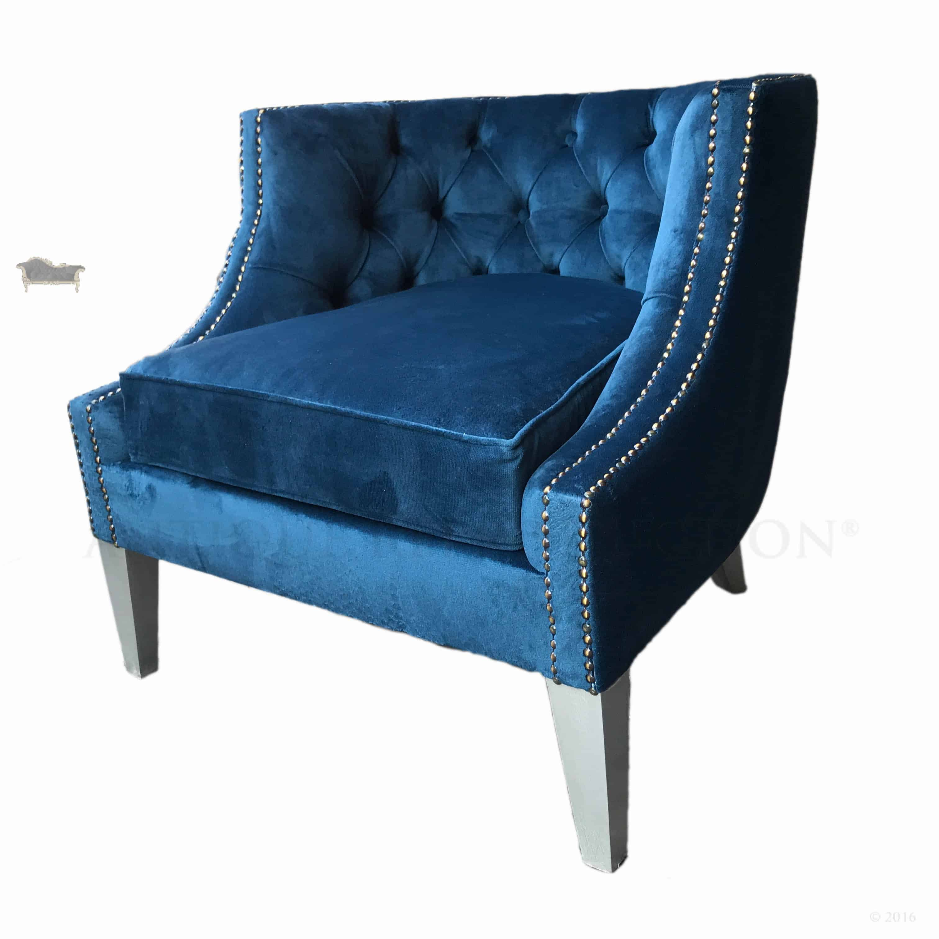 Classic Designer Chair Classic Chesterfield Modern Tub Chair Upholstered In