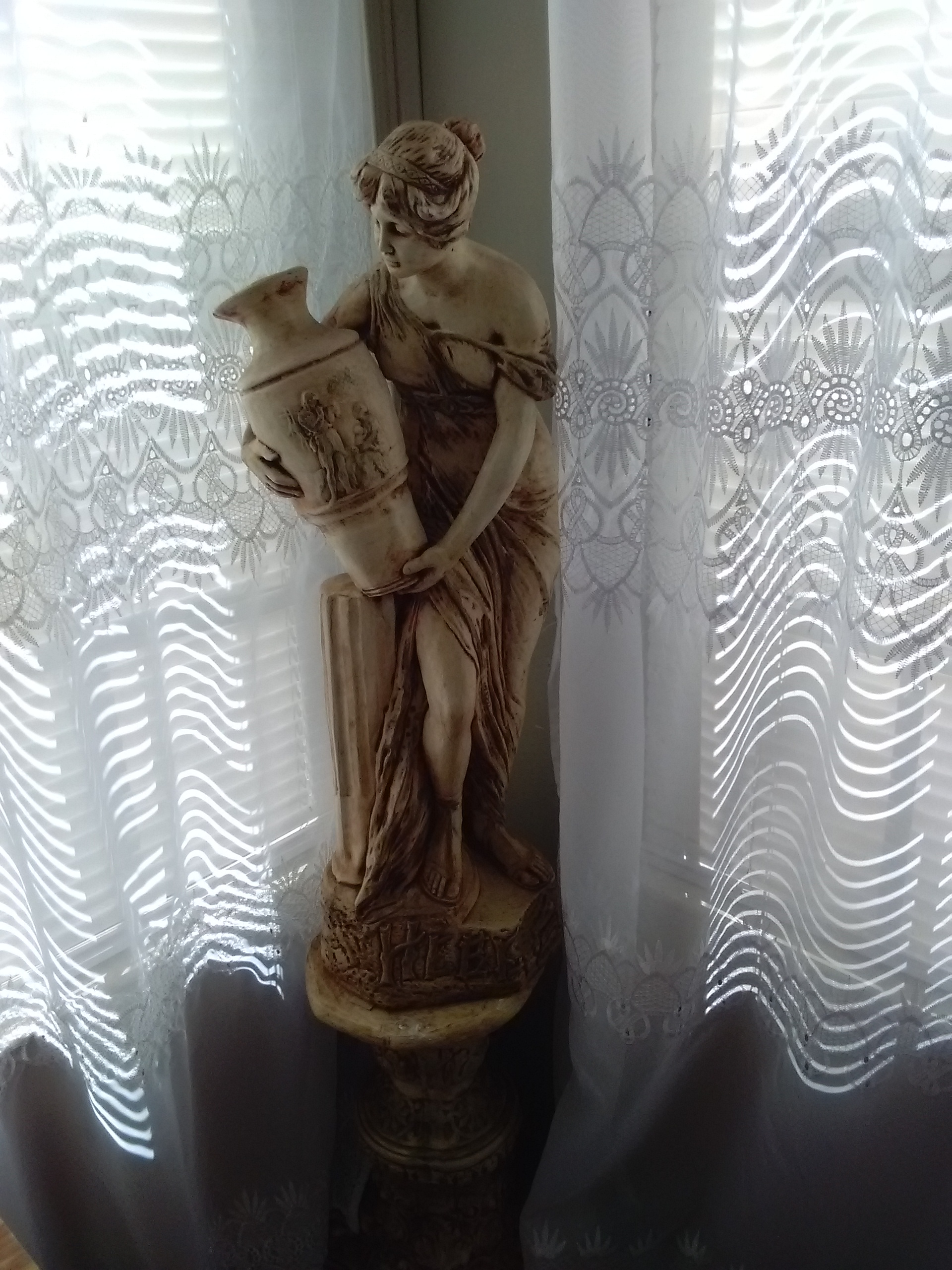 Ancient Greek Statues For Sale Greek Lady Statue With Stand For Sale Antiques