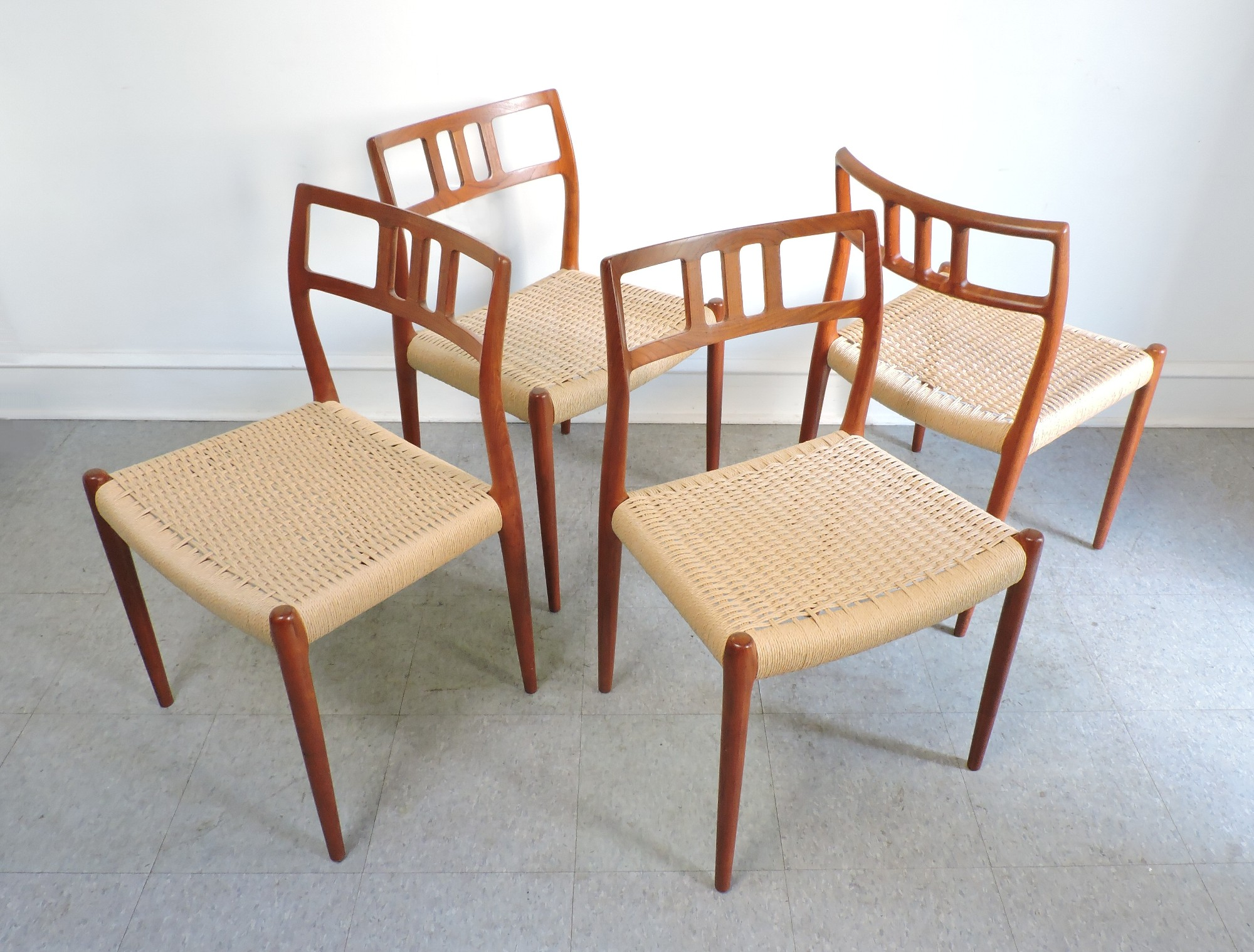 Danish Modern Dining Chairs For Sale Danish Furniture For Sale