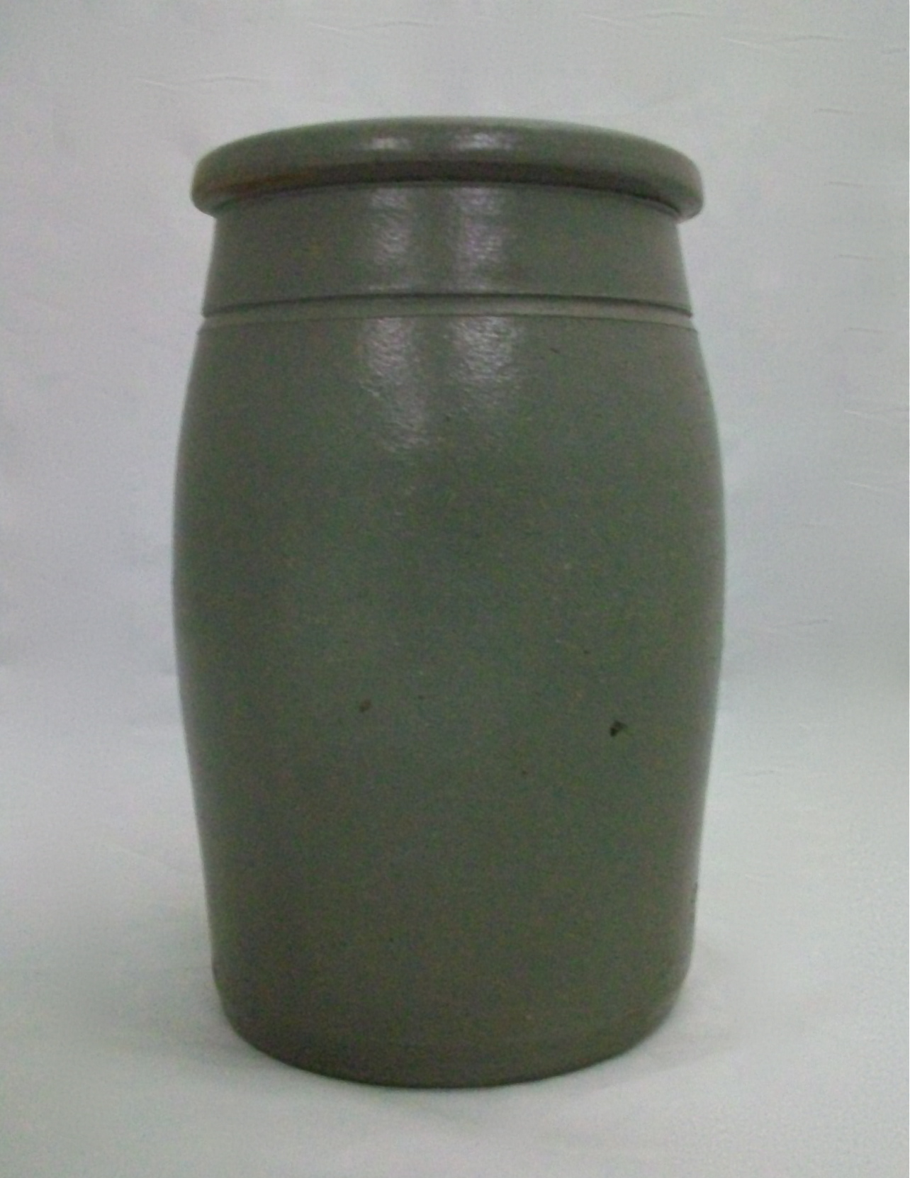 Jars On Sale Gray Stoneware Storage Jar For Sale Antiques