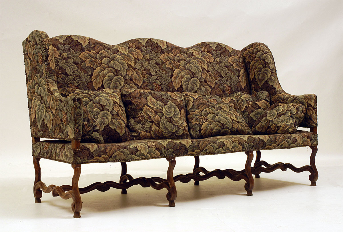 Chaise Medieval French Louis Xiii Xiv Transition Period Canap For Sale