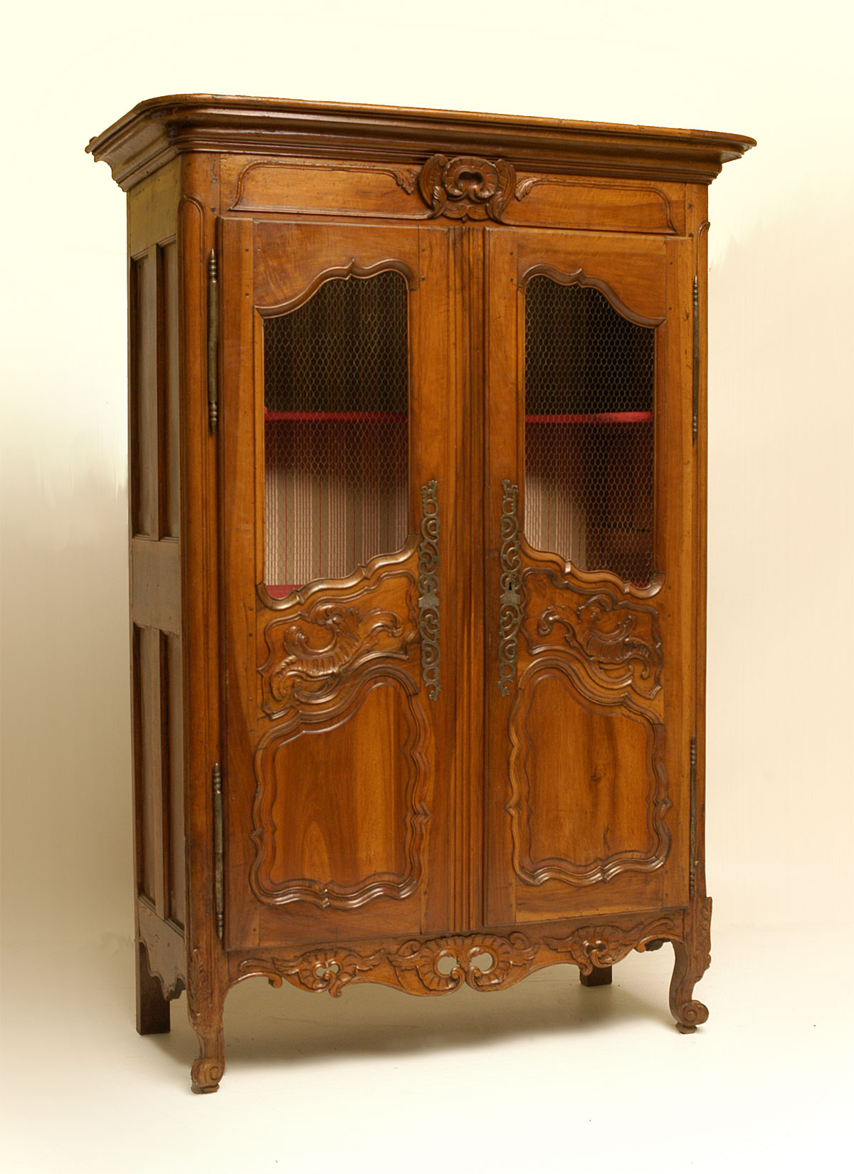 But Armoir French Nimoise Regence Period Armoire For Sale