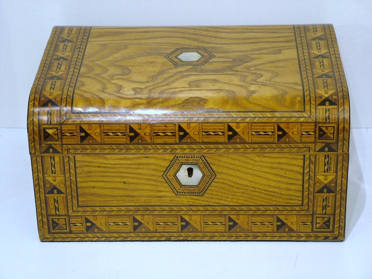 Vintage Style Jewellery Box Tunbridge Jewellery Box For Sale Antiques Classifieds