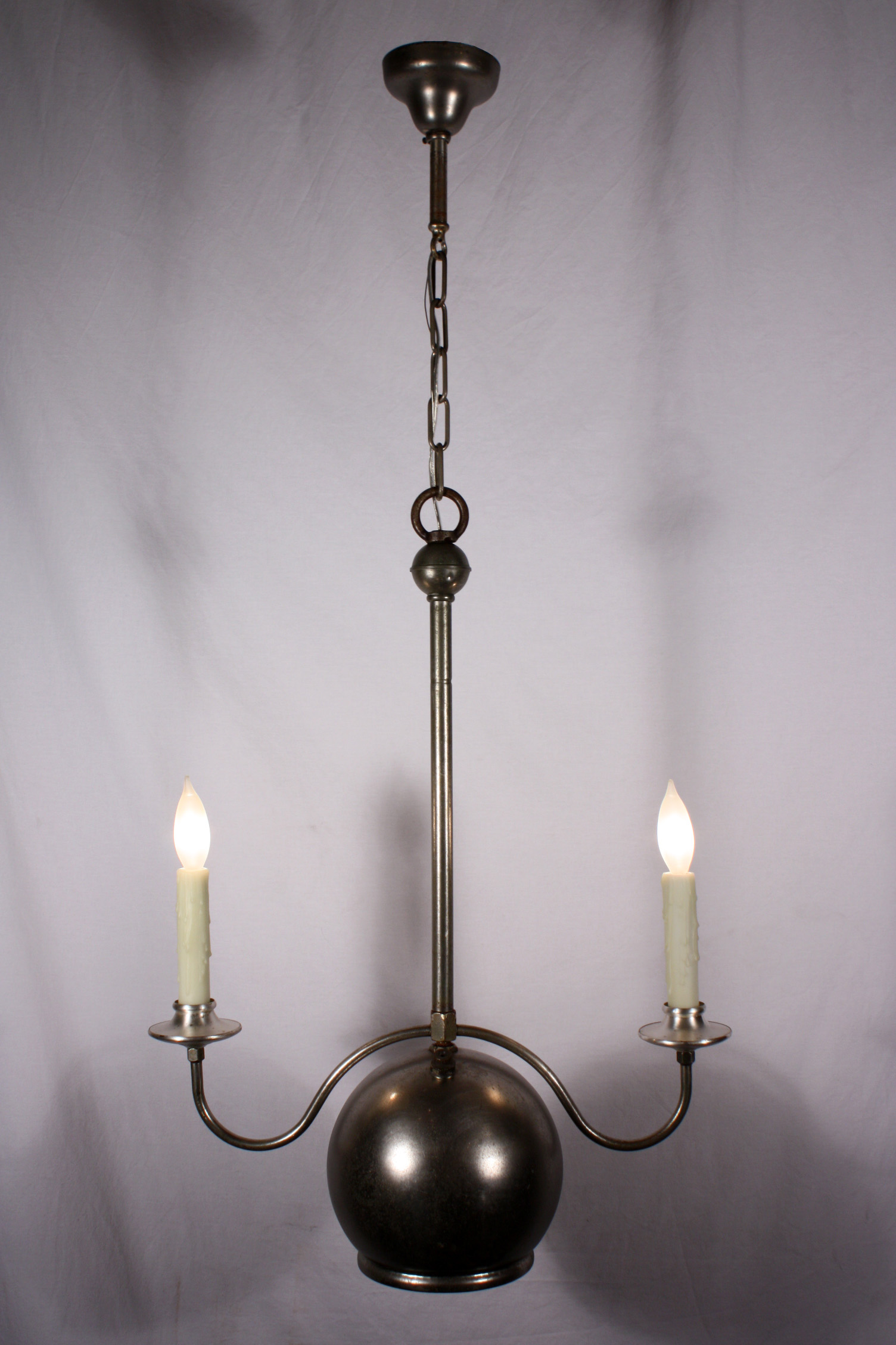 Industrial Lamps For Sale Fabulous Antique Two Light Industrial Gas Chandelier 1880