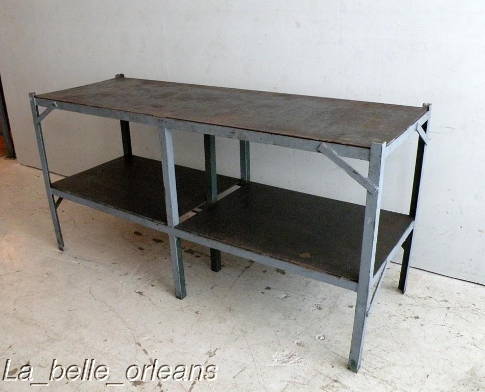 vintage industrial steel work table kitchen sale industrial kitchen style industrial chic decor furniture industrial