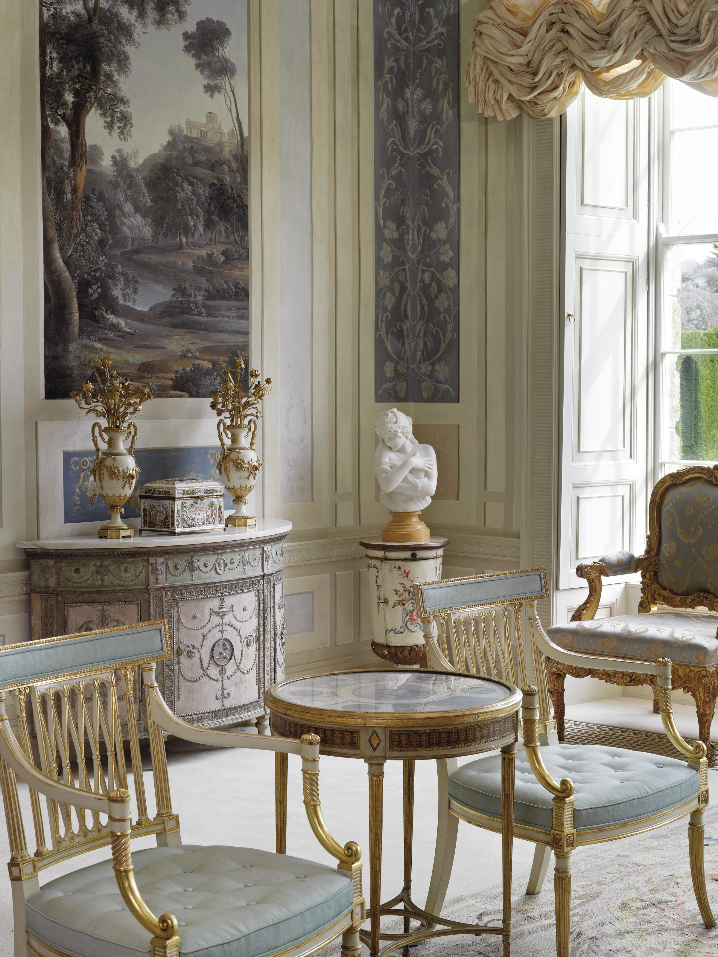 French Interior Decor Rococo Revisited