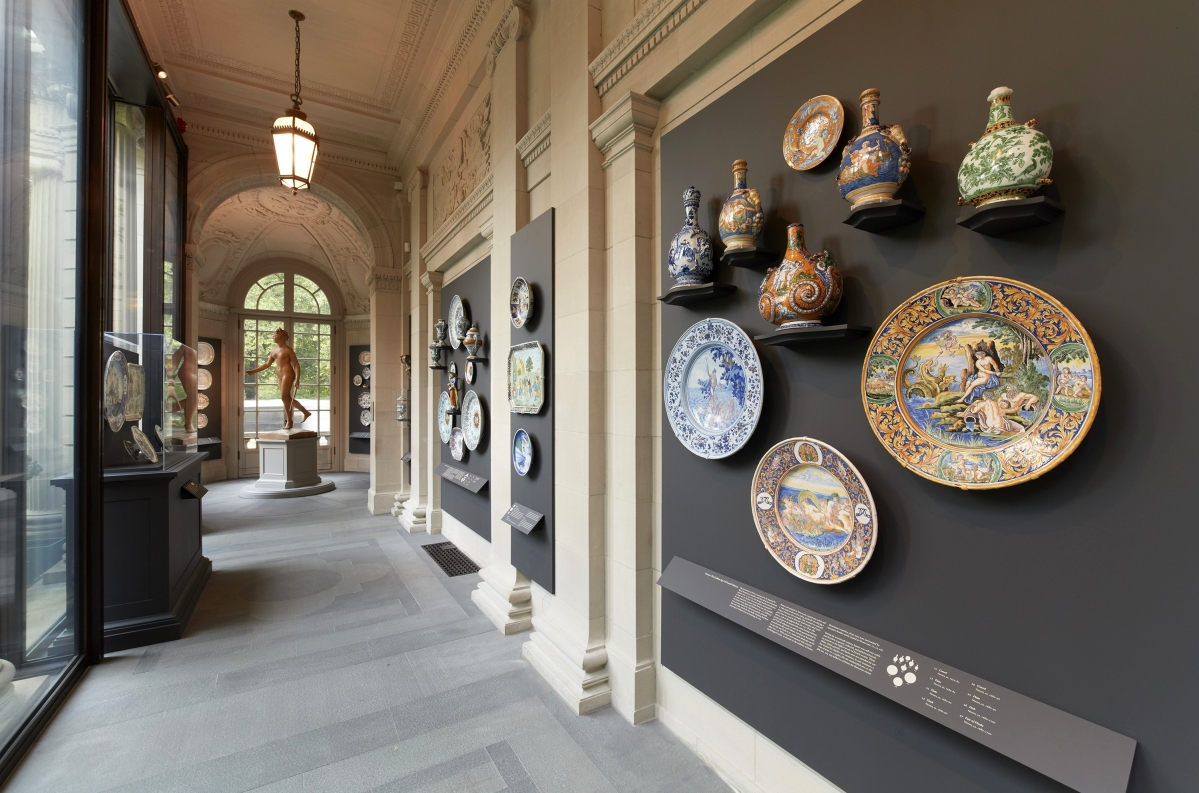 Faience Design Masterpieces Of French Faience The Frick Collection