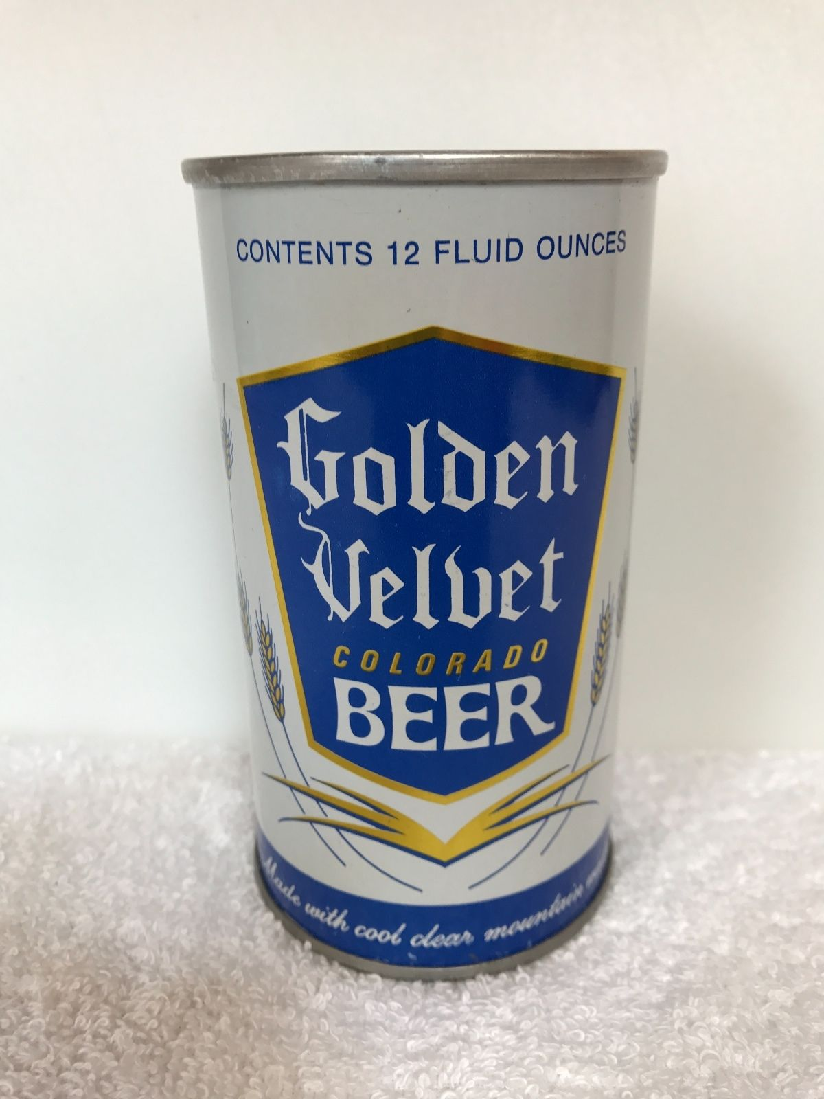 Tivoli Golden Tower Beer Nice To Golden Velvet Beer Ring Tab Can Tivoli Brewing Co