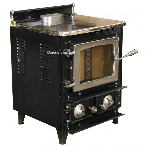 Flame View Heater Wood Stove Antique Stoves