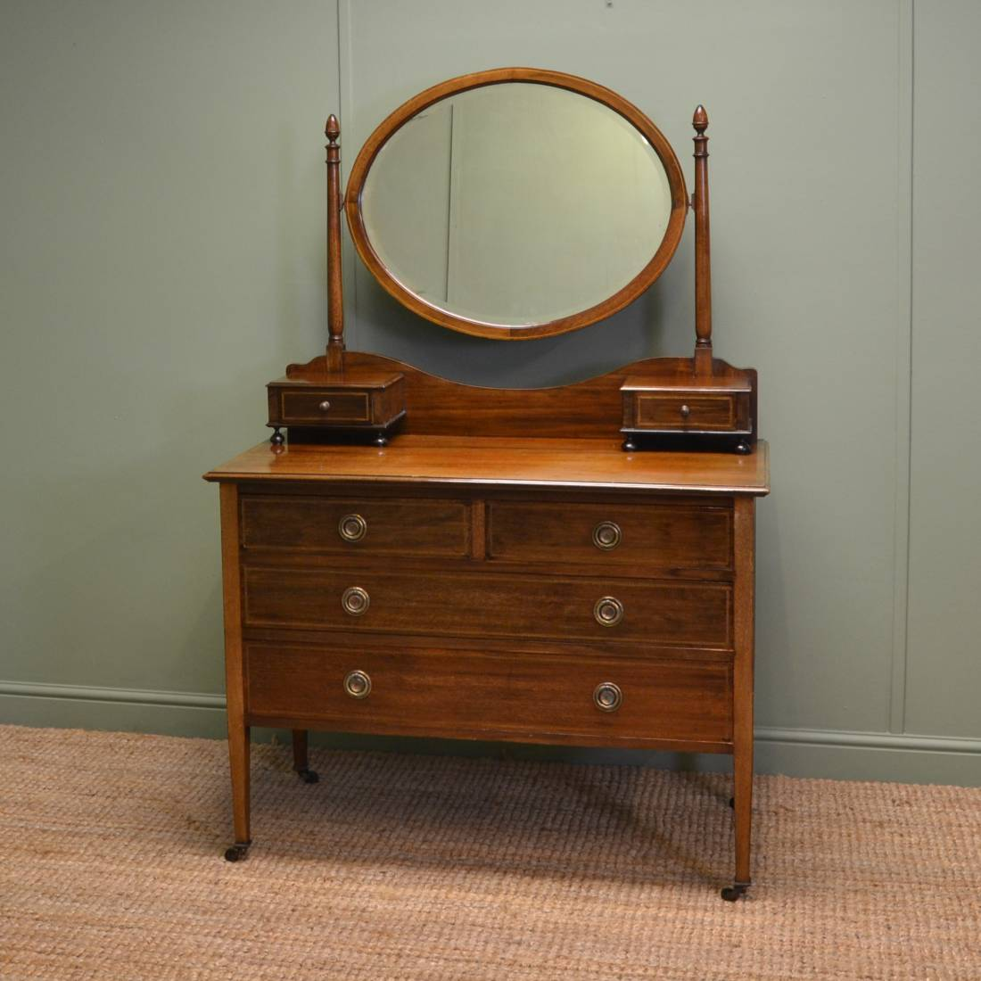 Small Vanity Dressing Table Edwardian Mahogany Antique Dressing Table Antiques World