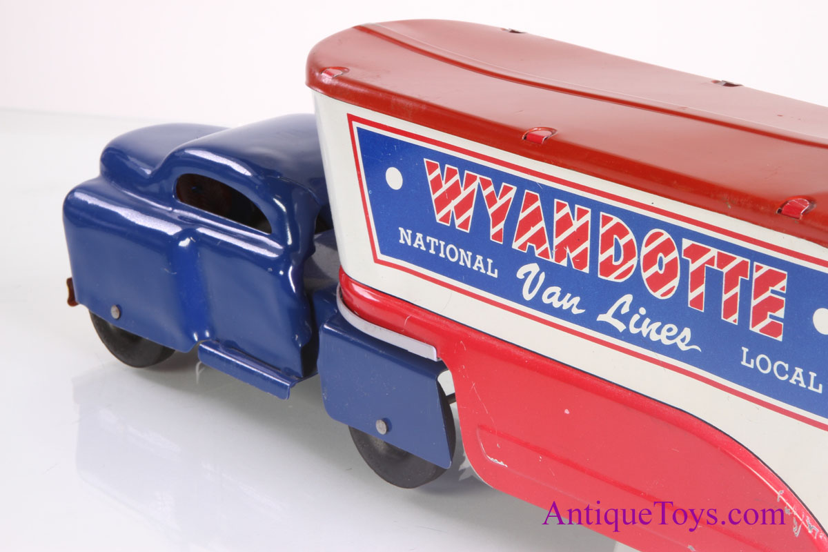 Toy Moving Truck Wyandotte Moving Truck Toy With Box For Sale Antique
