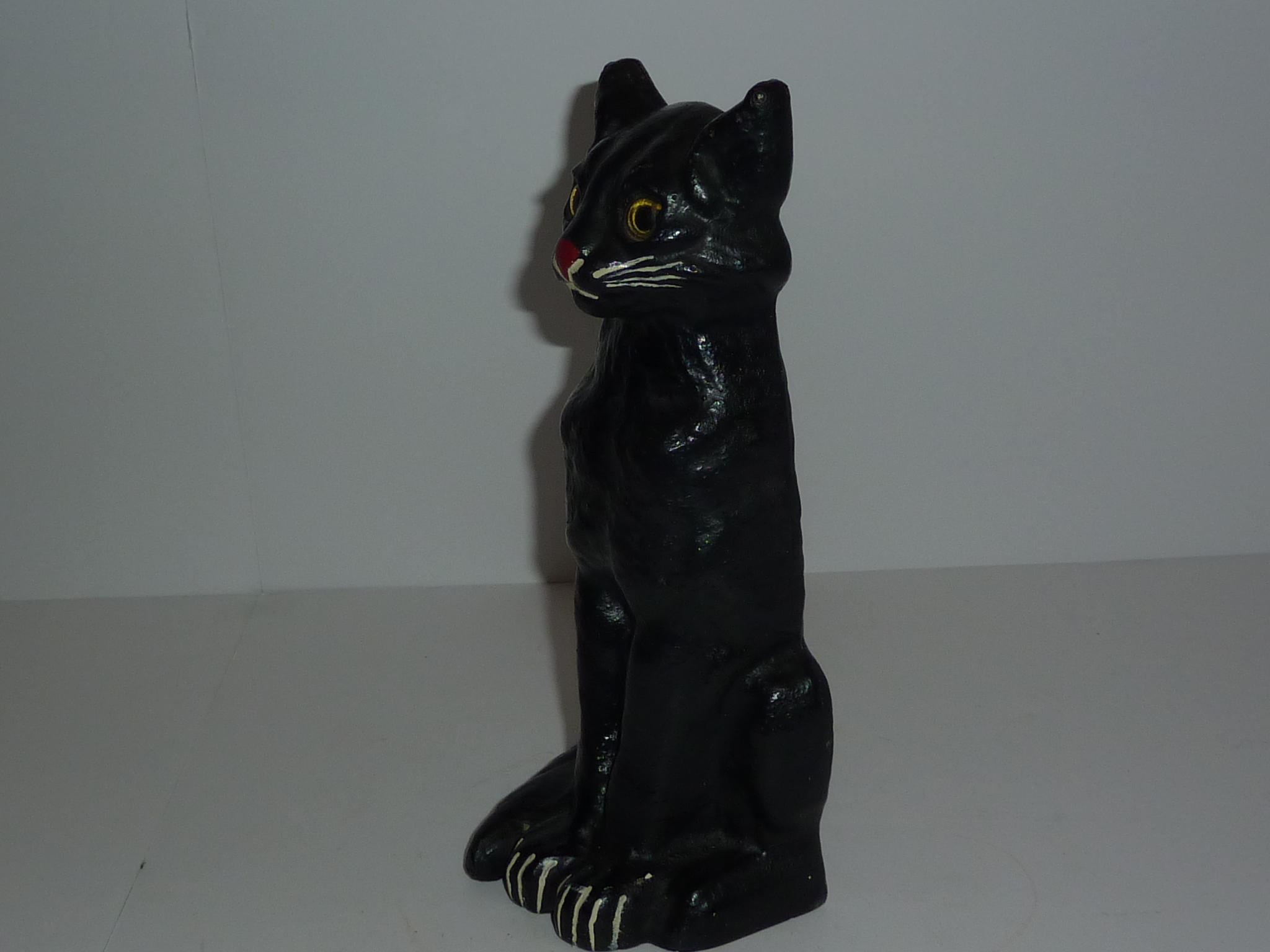 Cat Door Stops Sold Excellent Door Stop Sitting Black Cat Glass