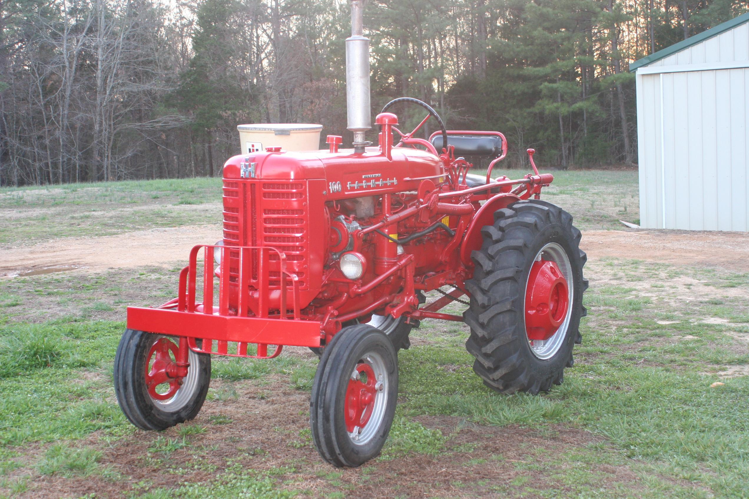 Tractor Story U2013 1955 Farmall 100 Distillate Antique Auto Wiring Diagram