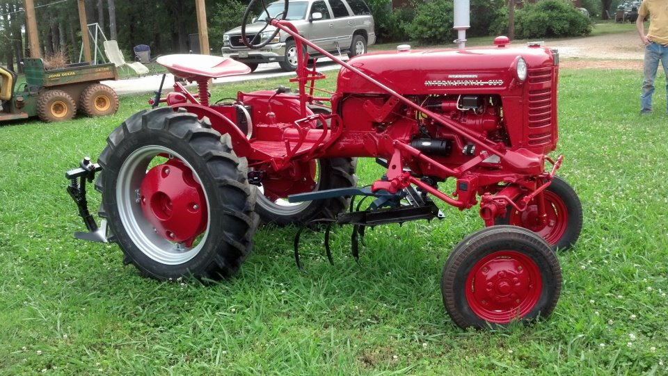 Antique Ih Cub Tractor : Tractor story international cub antique