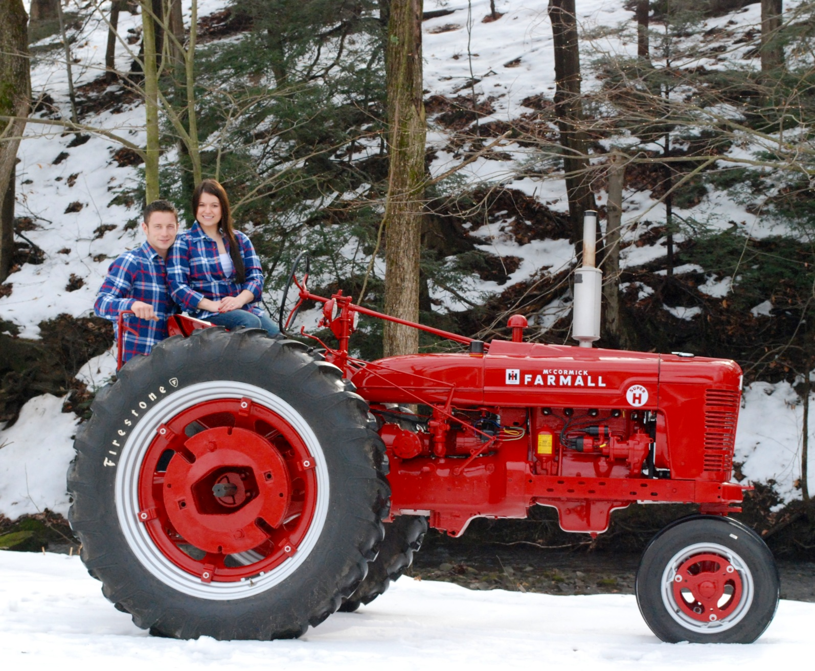 Farm All Tractor : Tractor story farmall super h antique