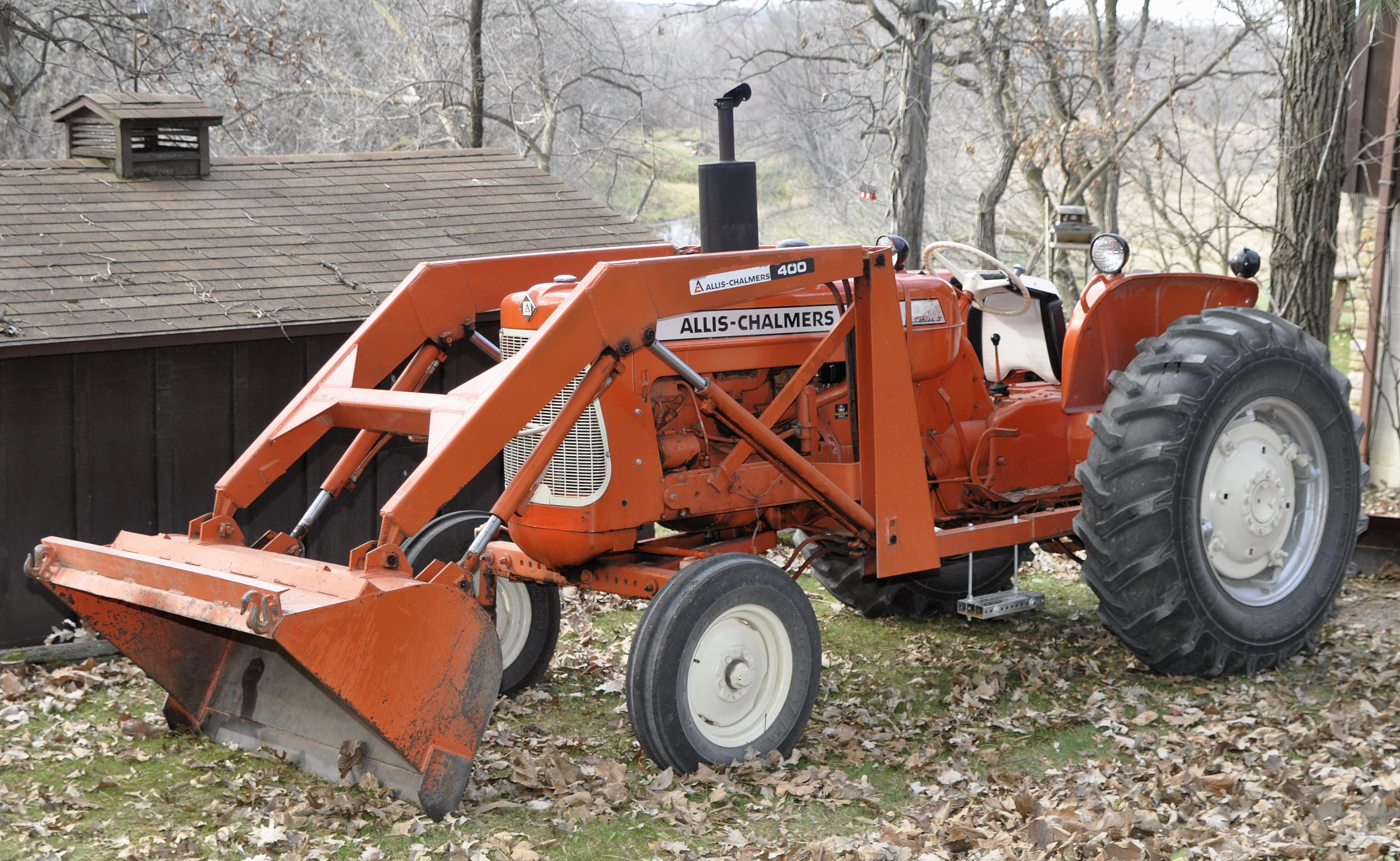 Vintage Allis Chalmers Tractors : Tractor story allis chalmers d antique