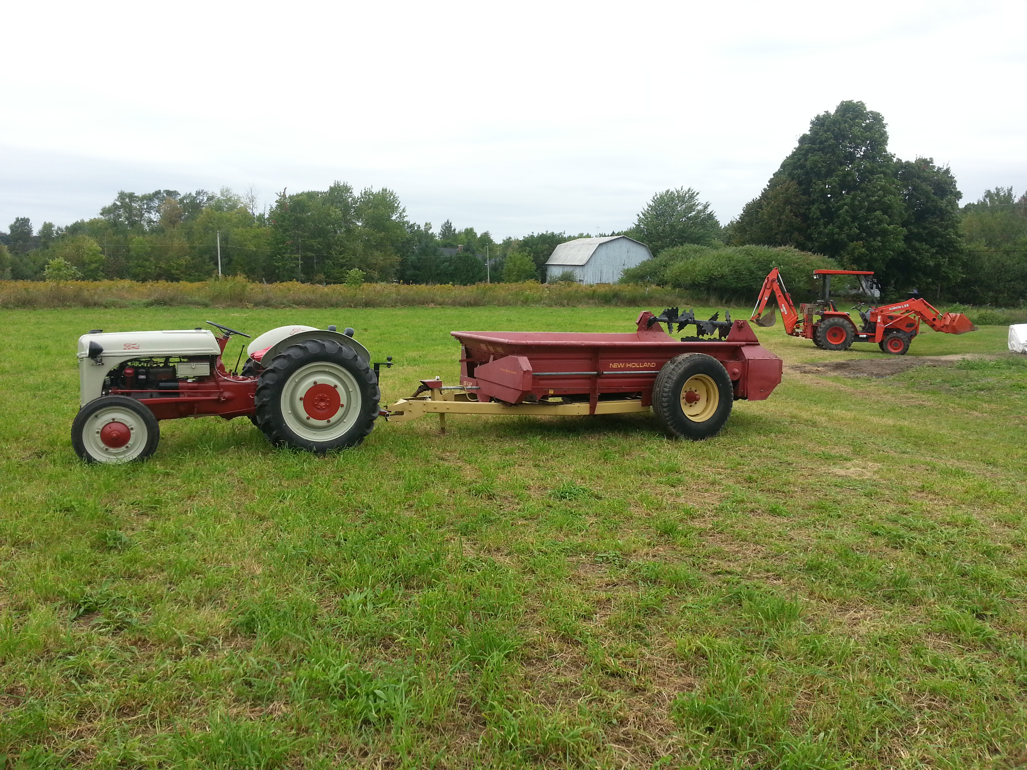 Ford 9n Mower : Ford n antique tractor