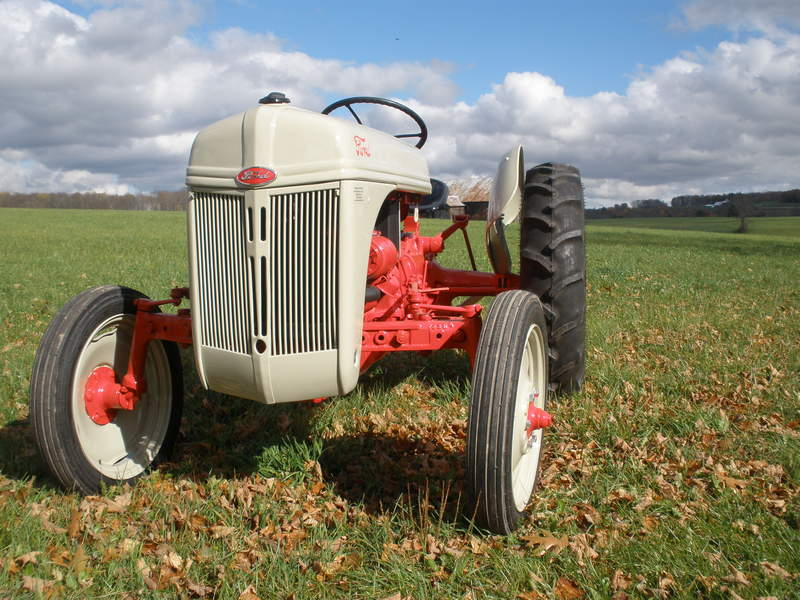 8N Archives - Antique Tractor Blog