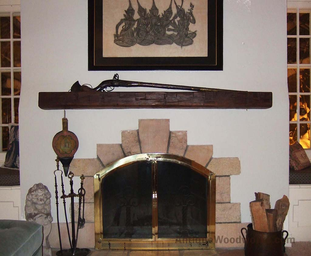 Fireplace Beams Rustic Fireplace Mantel Photos Antique Woodworks