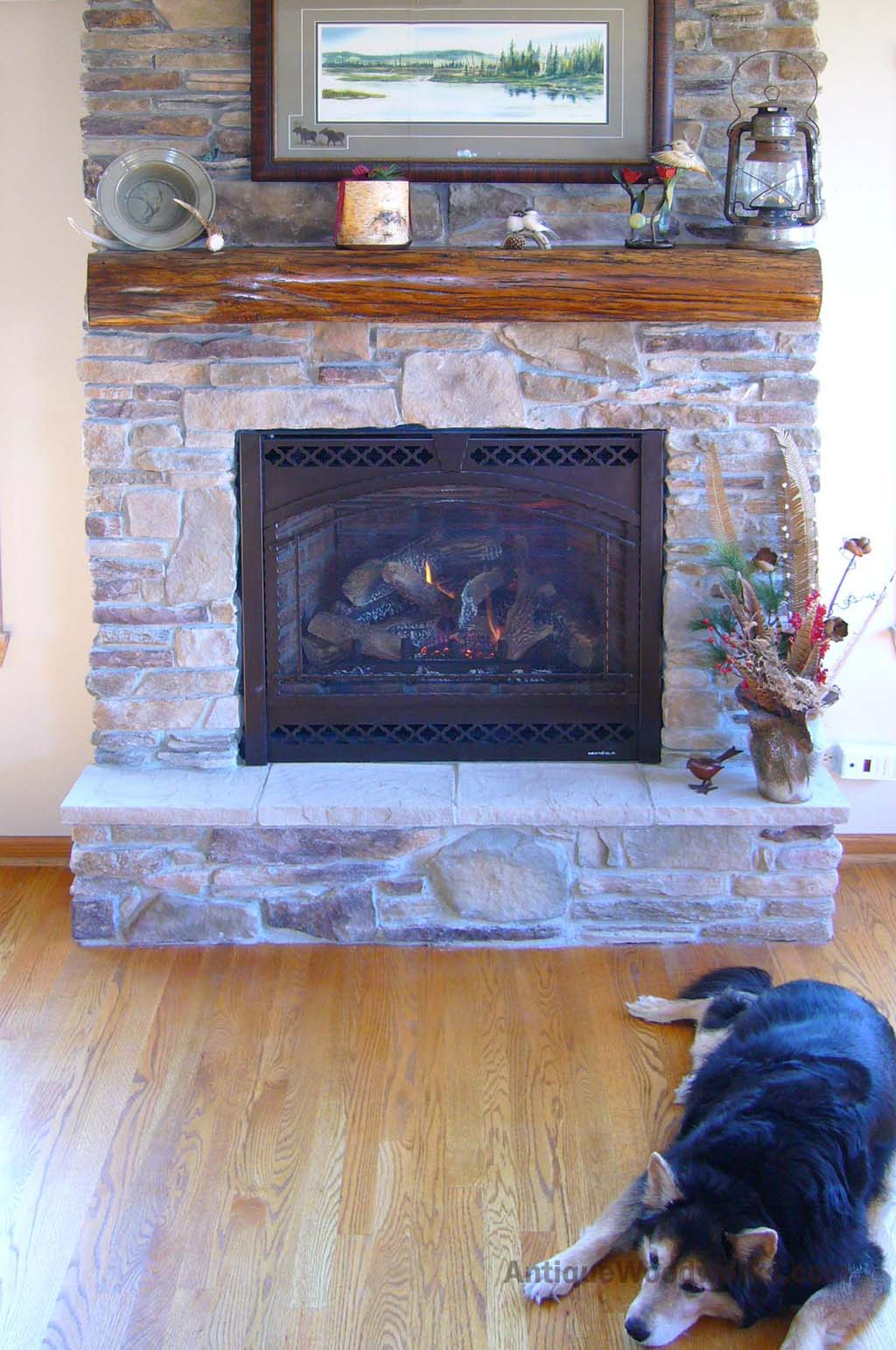 Fireplace Beam Mantel Rustic Fireplace Mantel Photos Antique Woodworks
