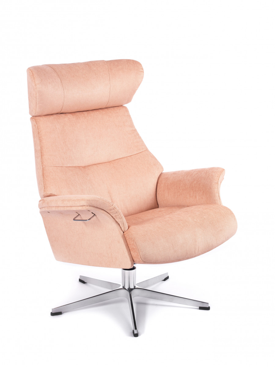 Conform Sessel Timeout Conform Air Sessel + Hocker, Vollpolster Evita Salmon