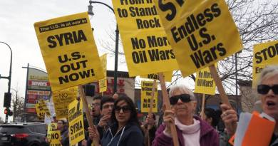 Hands Off Syria – We Denounce Trump's Air Strikes!