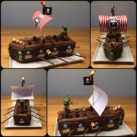 Piratenschiff zum Geburtstag  *** Piratenkuchen ...